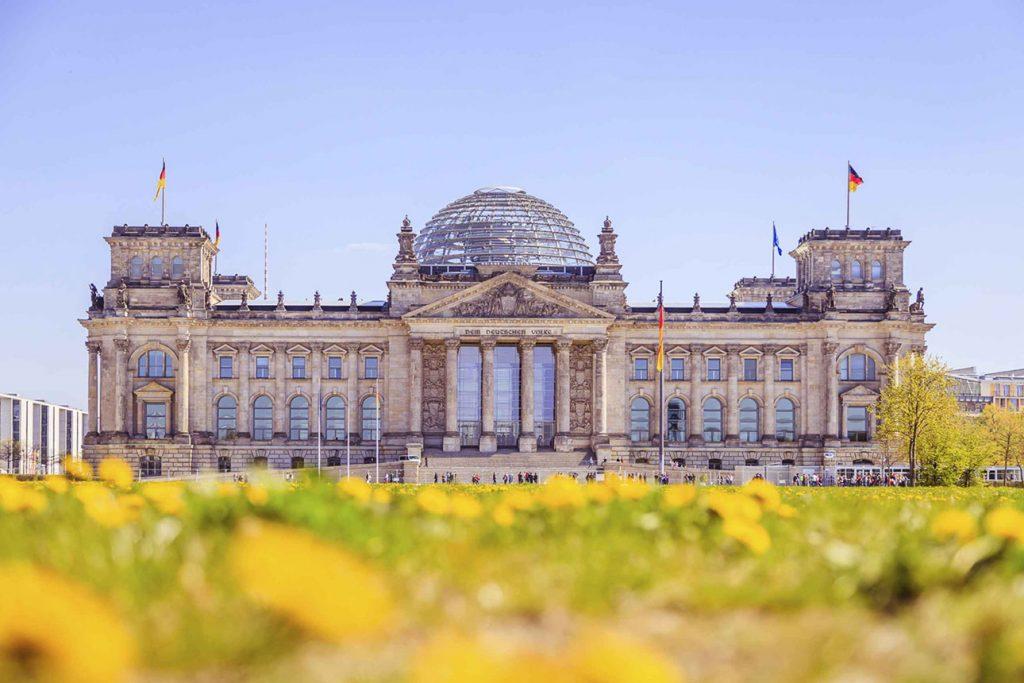 Private Führung durch den Bundestag
