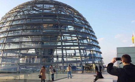 Bundestag Glaskuppel