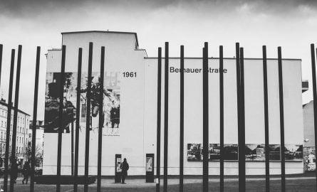 Bernauer Straße in Berlin