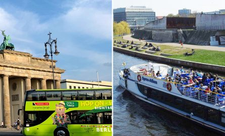 Hop On Hop Off und Bootstour in Berlin