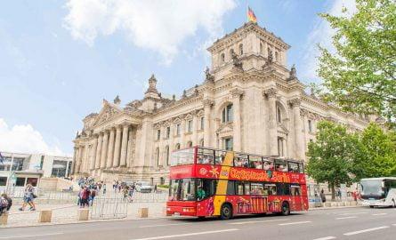 Hop On Hop Off Sightseeing Bus in Berlin