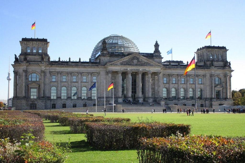 Tickets für das Reichstagsgebäude in Berlin