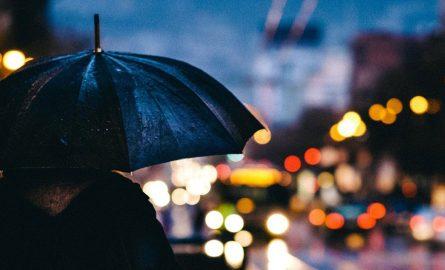 London bei Regen erkunden