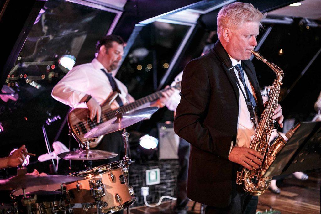 Bootstour in London mit Jazz-Musik