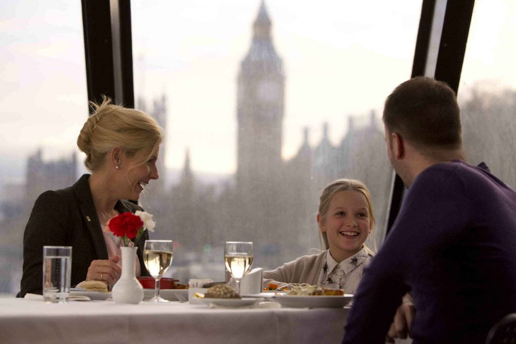 Bootstour in London mit Mittagessen