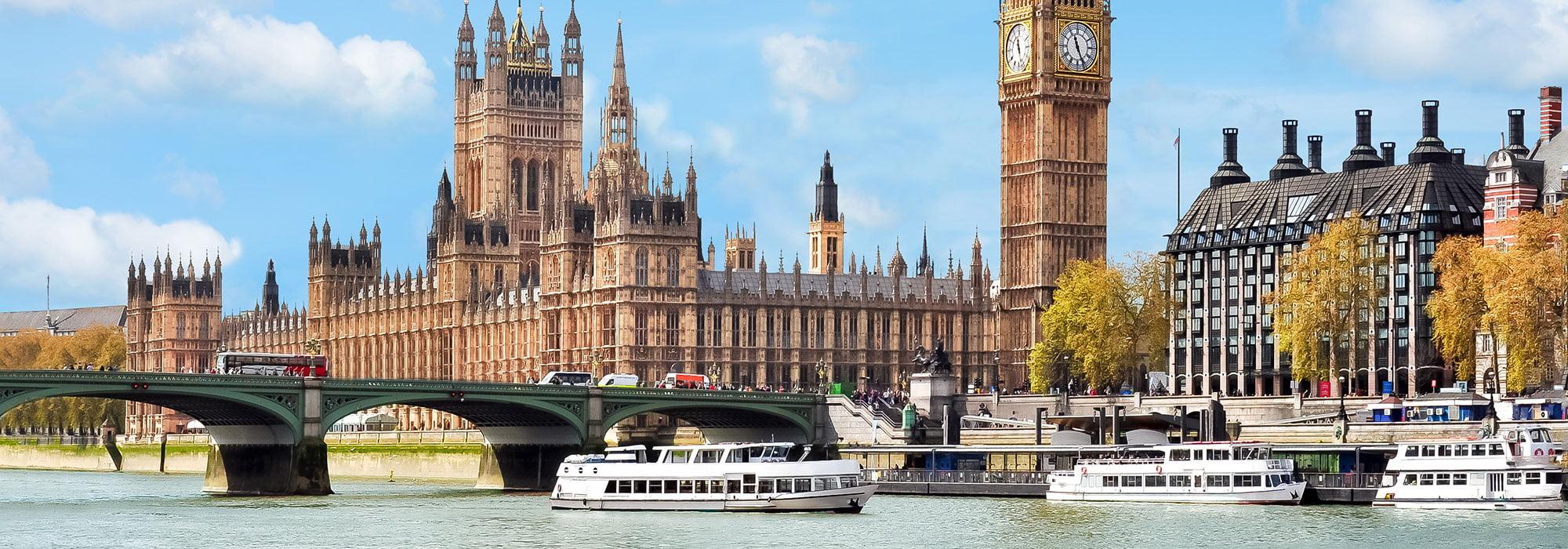 Bootstour auf der Themse in London