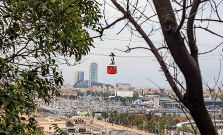 Seilbahn in Barcelona