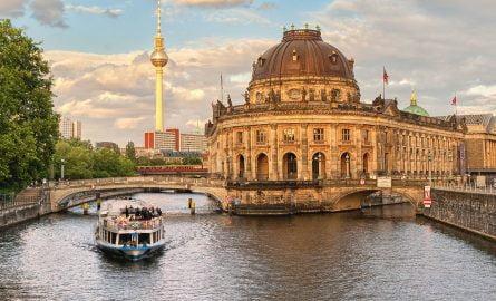 Bootsfahrt in Berlin