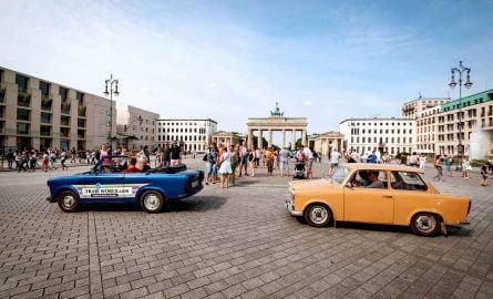 Stadtführung durch Berlin mit dem Trabi