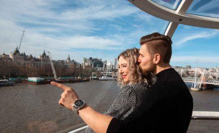 London Eye Ticket für private Kapsel