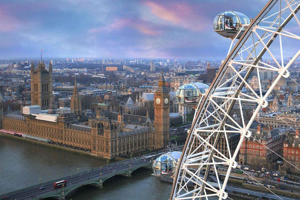 London Eye Ticket mit Stadtrundgang