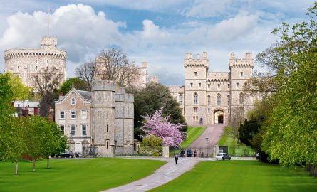 Schloss Windsor in London