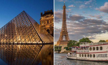 Kombiticket für das Louvre Museum in Paris