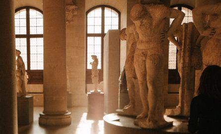 Louvre Museum von innen