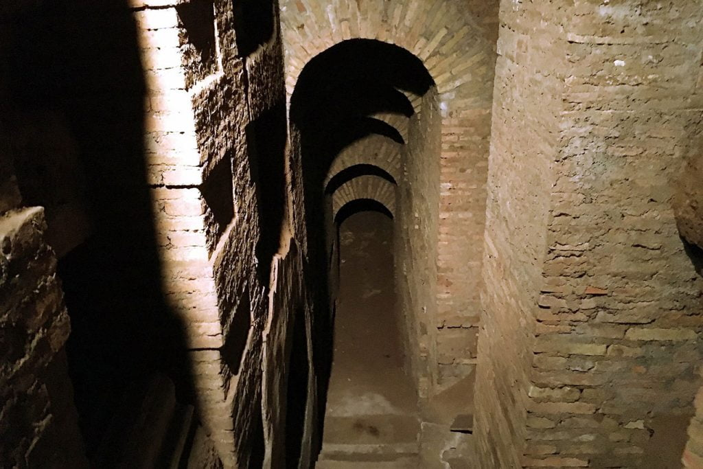 Katakomben in Rom
