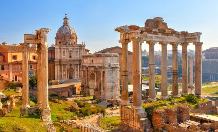 Roman Forum in Rom