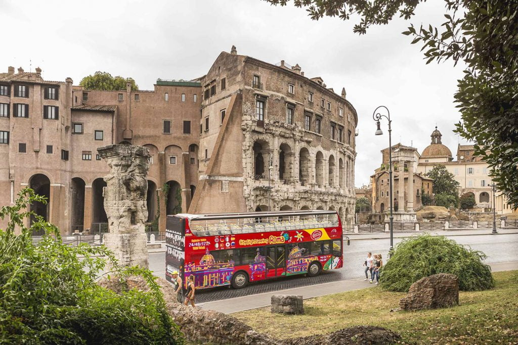 Hop On Hop Off Sightseeing Bus in Rom