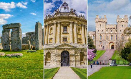 Stonehenge Kombi-Ticket mit Oxford und Windsor