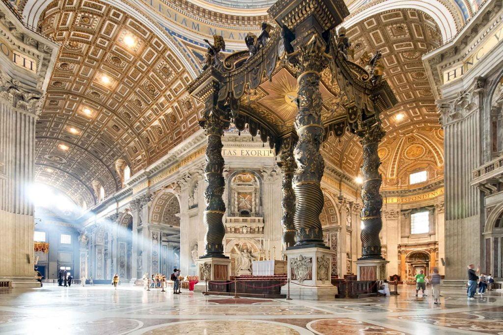Innenraum im Petersdom