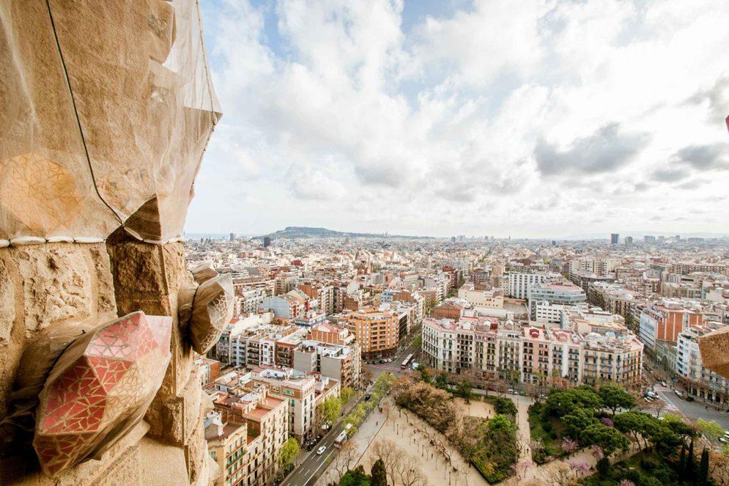 Sagrada Familia Ticket mit Türmen