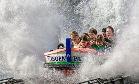 Wasserbahnen im Europapark