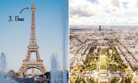 Dritte Ebene des Eiffelturms