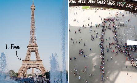 Erste Ebene des Eiffelturms