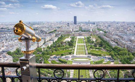 Eiffelturm Ticket Spitze