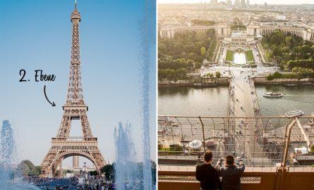 Zweite Ebene des Eiffelturms