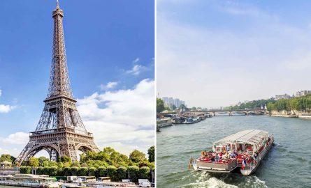 Eiffelturm und Bootstour Ticket