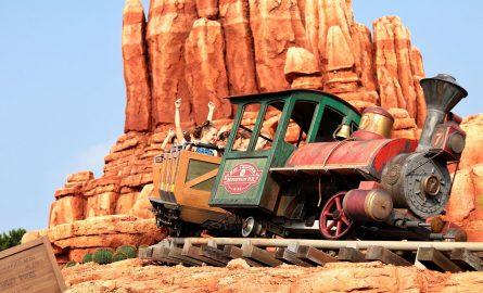 Achterbahn im Disneyland Paris