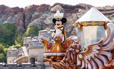 Ticket für das Disneyland Paris