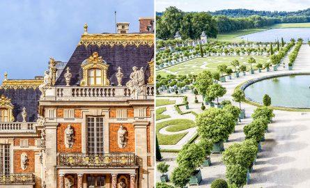 Schloss Versailles Ticket mit Garten