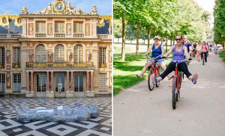 Schloss Versailles Ticket mit Fahrradtour