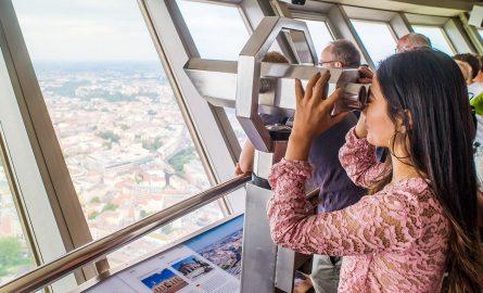 Aussicht des Berliner Fernsehturms