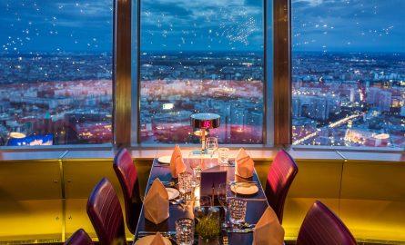 Sphere Restaurant im Berliner Fernsehturm