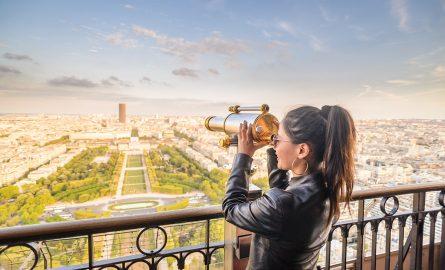 Eiffelturm in Paris Aussicht